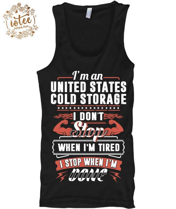 United states cold storage men t shirt, shirt, tee